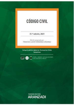 CÓDIGO CIVIL 2021 (DUO) (PAPEL + E-BOOK)