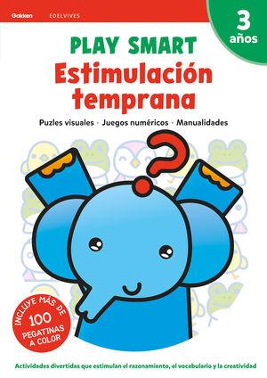 ESTIMULACION TEMPRANA 3 3AÑOS 20 PLAY SMART GAKKEN