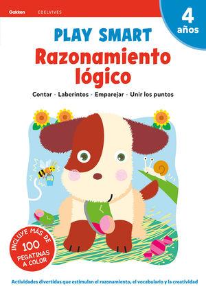 RAZONAMIENTO LOGICO 2 4AÑOS 20 PLAY SMART GAKKEN