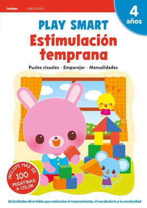 ESTIMULACION TEMPRANA 3 4AÑOS 20 PLAY SMART GAKKEN
