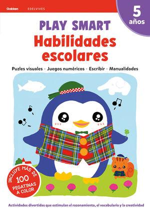 HABILIDADES ESCOLARES 2 5AÑOS 20 PLAY SMART GAKKEN