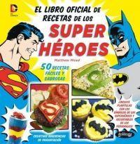 LIBRO DE COCINA SUPER HEROES