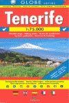 TENERIFE MAPA GLOBE SERIES 1:75000