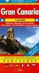MAPA GRAN CANARIA 1:60000 GLOBE (ESPAÑOL-INGLÉS-ALEMÁN-FRANCÉS-ITALIANO)