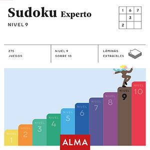 SUDOKU EXPERTO. NIVEL 9 (CUADRADOS DE DIVERSIÓN)