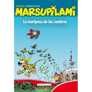 LA MARIPOSA DE LAS CUMBRES. MARSUPILAMI