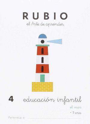 EDUCACIÓN INFANTIL 4 EL MAR 3 AÑOS RUBIO