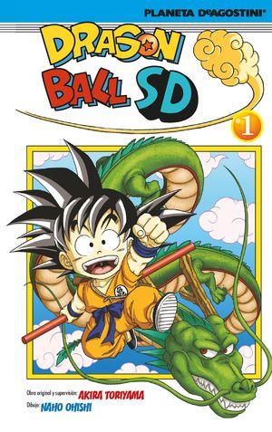 DRAGON BALL SD Nº 01