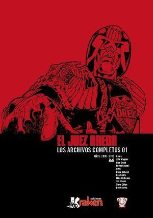 JUEZ DREDD, LOS ARCHIVOS COMPLETOS 1