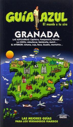 GRANADA 2015 GUIA AZUL