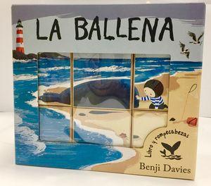 LA BALLENA - LIBRO Y ROMPECABEZAS