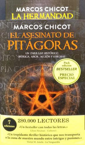 PACK EL ASESINATO DE PITÁGORAS + LA HERMANDAD