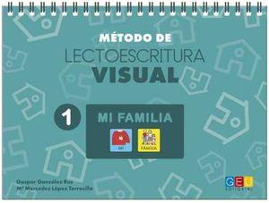 MÉTODO DE LECTOESCRITURA VISUAL 1 MI FAMILIA
