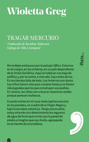 TRAGAR MERCURIO