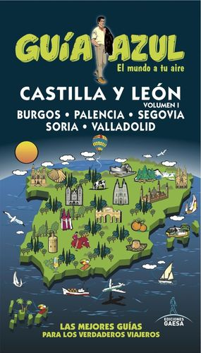 CASTILLA LEÓN I 2016 GUIA AZUL
