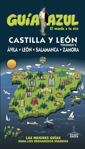 CASTILLA LEÓN II 2016 GUIA AZUL