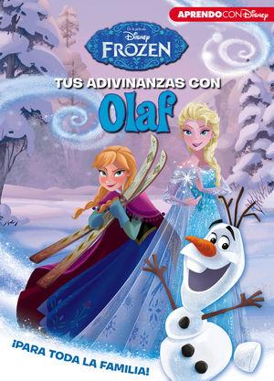TUS ADIVINANZAS CON OLAF (APRENDO CON DISNEY)