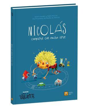 NICOLÁS, COMPARTE CON MUCHO ARTE