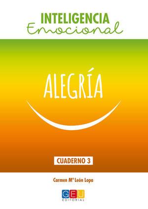ALEGRIA. CUADERNO INTELIGENCIA EMOCIONAL