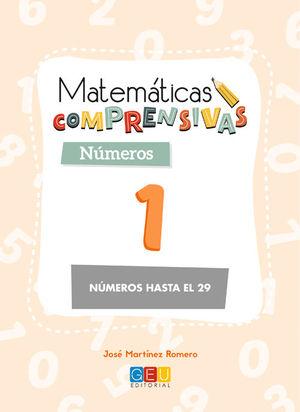 MATEMATICAS COMPRENSIVAS NUMEROS 1