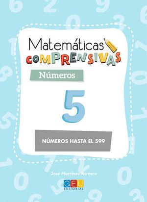 MATEMÁTICAS COMPRENSIVAS NÚMEROS 5