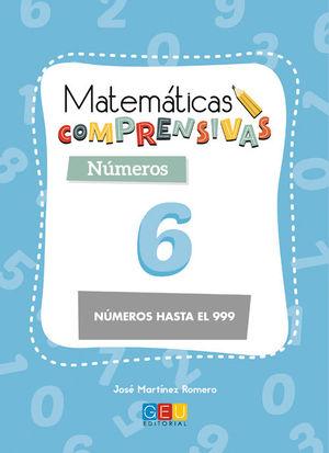 MATEMÁTICAS COMPRENSIVAS NÚMEROS 6