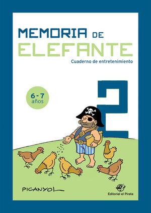 MEMORIA DE ELEFANTE 2: CUADERNO DE ENTRETENIMIENTO