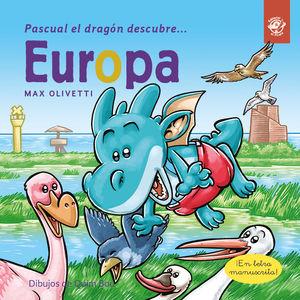 PASCUAL EL DRAGÓN DESCUBRE EUROPA - LIBROS PARA NIÑOS EN LETRA LIGADA, MANUSCRIT