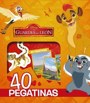 LA GUARDIA DEL LEÓN. 40 PEGATINAS DISNEY