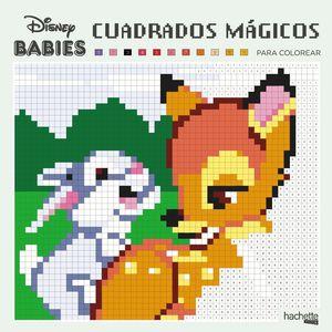 CUADRADOS MÁGICOS PARA COLOREAR - DISNEY BABIES