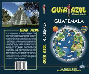 GUATEMALA 2018 GUIA AZUL