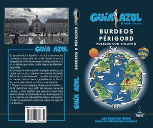 BURDEOS  Y PÉRIGORD 2018 GUIA AZUL