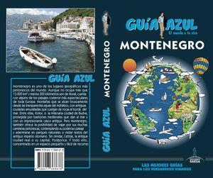 MONTENEGRO 2018 GUIA AZUL