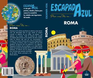 ROMA ESCAPADA AZUL 2018
