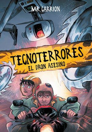 EL DRON ASESINO (TECNOTERRORES 1)