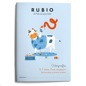 1. ORTOGRAFÍA RUBIO 6-7 AÑOS PARA EMPEZAR