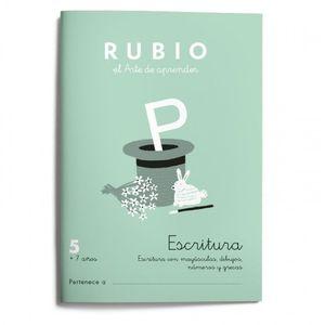 5. ESCRITURA RUBIO ED 2021