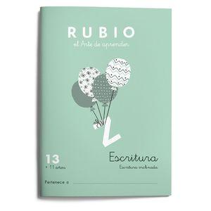 13. ESCRITURA RUBIO ED. 2021