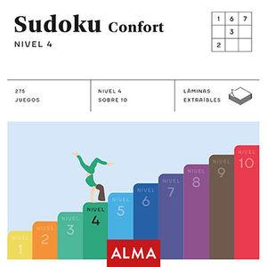 SUDOKU CONFORT. NIVEL 4 (CUADRADOS DE DIVERSIÓN)