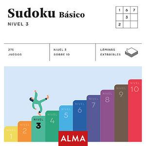 SUDOKU BÁSICO. NIVEL 3 (CUADRADOS DE DIVERSIÓN)