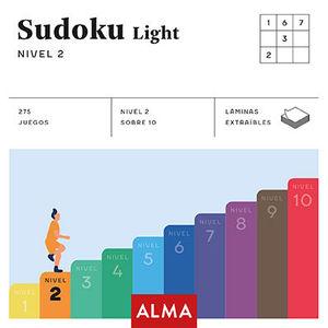 SUDOKU LIGHT. NIVEL 2 (CUADRADOS DE DIVERSIÓN)