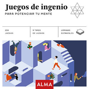 JUEGOS DE INGENIO PARA POTENCIAR TU MENTE (CUADRADOS DE DIVERSIÓN)