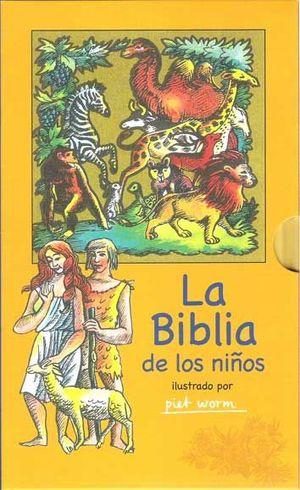 LA BIBLIA DE LOS NIÑOS ESTUCHE