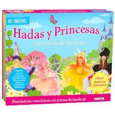 HADAS Y PRINCESAS ( KIT CREATIVO )