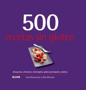 500 RECETAS SIN GLUTEN (2019)
