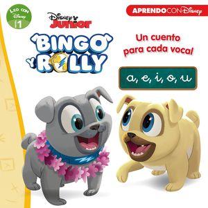 BINGO Y ROLLY. UN CUENTO PARA CADA VOCAL: A, E, I, O, U (LEO CON DISNEY - NIVEL