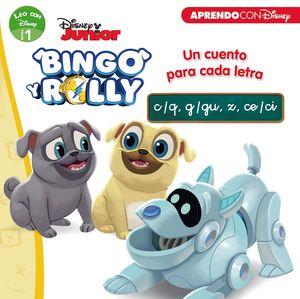 BINGO Y ROLLY. UN CUENTO PARA CADA LETRA: C/Q, G/GU, Z, CE/CI (LEO CON DISNEY -