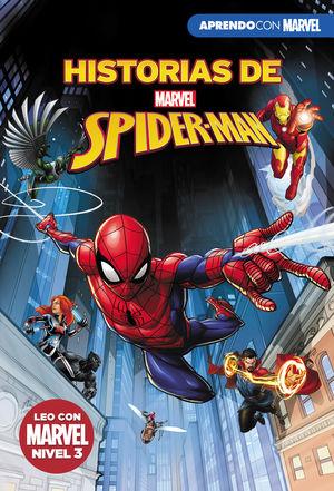 HISTORIAS DE SPIDER-MAN (LEO CON MARVEL - NIVEL 3)