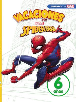 VACACIONES CON SPIDER-MAN (LIBRO EDUCATIVO MARVEL CON ACTIVIDADES