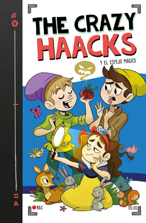 THE CRAZY HAACKS Y EL ESPEJO MÁGICO 5 (SERIE THE CRAZY HAACKS 5)